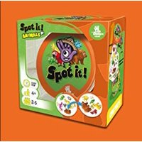 Spot it! Jr. Animals Card Game