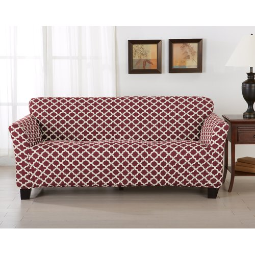 Home Fashion Designs Brenna Box Cushion Sofa Slipcover by Home Fashion Designs