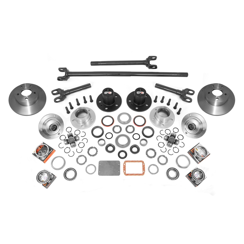 Alloy USA 12198 Manual Locking Hub Conversion Kit, 84-06 Jeep Cherokee And Wrangler by Alloy USA