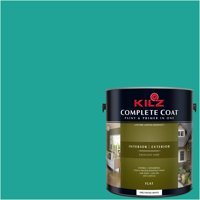 Deep Teal, KILZ COMPLETE COAT Interior/Exterior Paint & Primer in One, #RH150