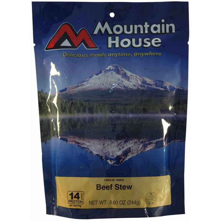Mountain House Family Size Beef Stew, 5 Servings by Mountain House