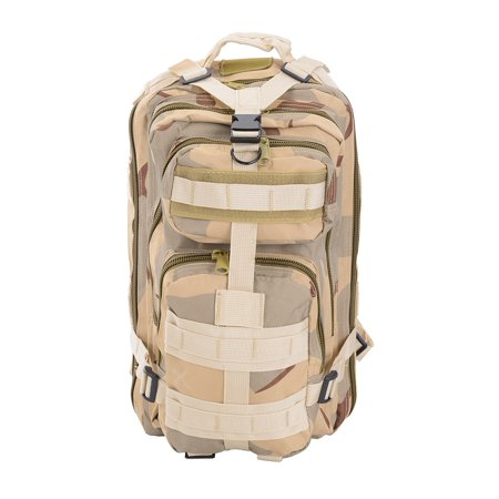 30L Military Tactical Waterproof Camping Hiking Bag Outdoor Backpack Travel Sport Oxford Nylon ()