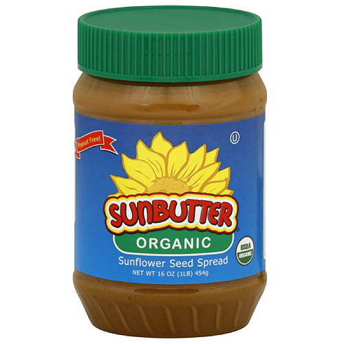 Sunbutter Organic Sunflower Seed Spread, 16 oz (Pack of 6)