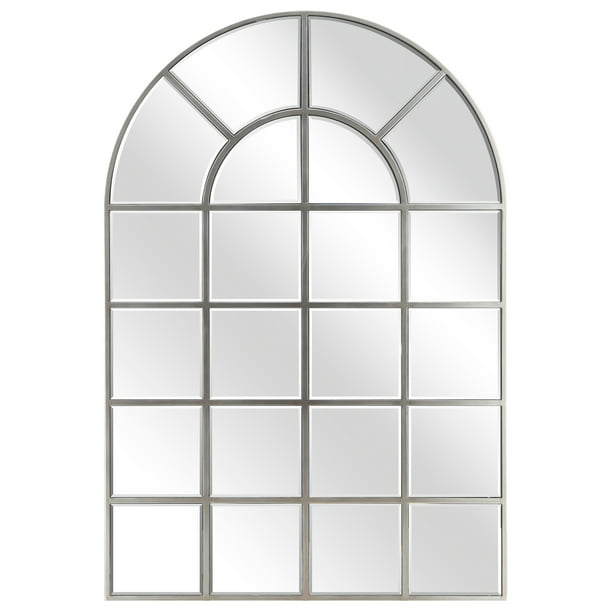 Empire Art Direct Arch Window Pane Mirror Wall Floor Mirror 30 X 44 Ready To Hang Walmart Com Walmart Com