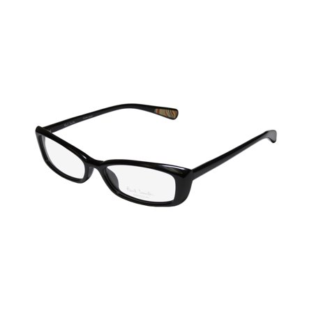 New Paul Smith 406 Womens/Ladies Cat Eye Full-Rim Black Upscale Popular Style Cat Eyes Frame Demo Lenses 52-16-138 (New Style Spectacles)