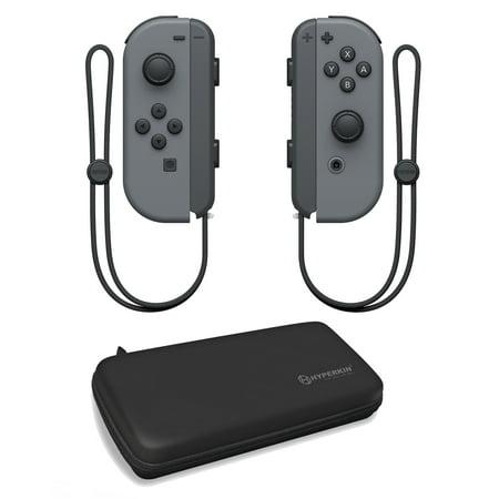 Nintendo Switch Gray Joy-Con with Case