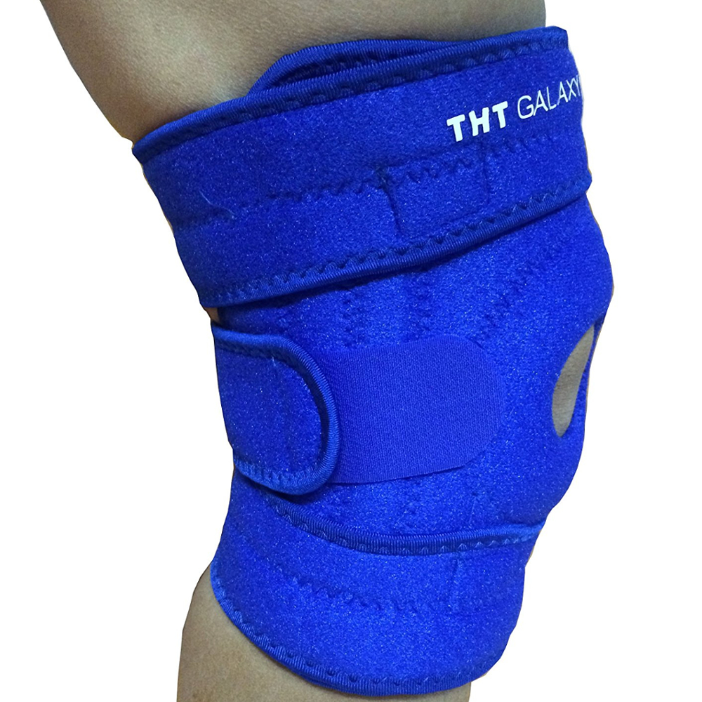 New Comfortable Knee Brace Neoprene Open Patella Compression Sleeve for Meniscus Tear Arthritis Pain