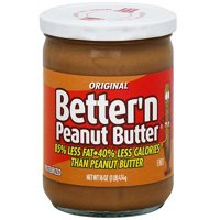 Better 'N Peanut Butter Original Spread, 16 oz (Pack of 6)