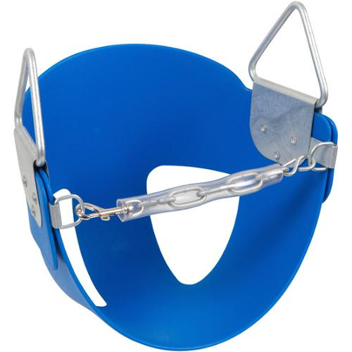 Swing Set Stuff Half Buck Swing Seat Blue