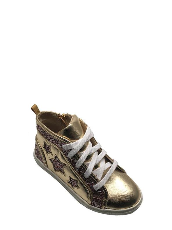 Wonder Nation Girls' Iridescent Mid Top Athletic Shoe
