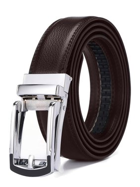 3031e4333568 Product Image Xhtang 2017 New Style Comfort Click Belt Ratchet Leather  Dress Belts for Men 30mm Wide Brown
