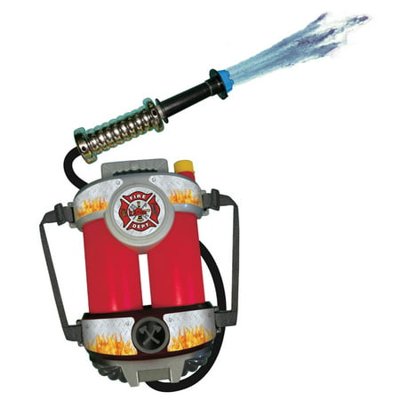 Super Soaking Fire Hose with Backpack Child - One Size