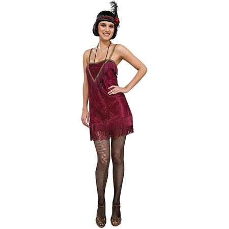 Jazz Diva Flapper Girl Adult Costume - Flapper Girl Hair Tutorial