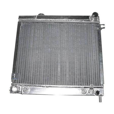 Liland 128AA Radiator, Polished Aluminum Same as stock