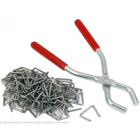 Hog Ring Pliers Upholstery 100 Clip Fasteners Tools