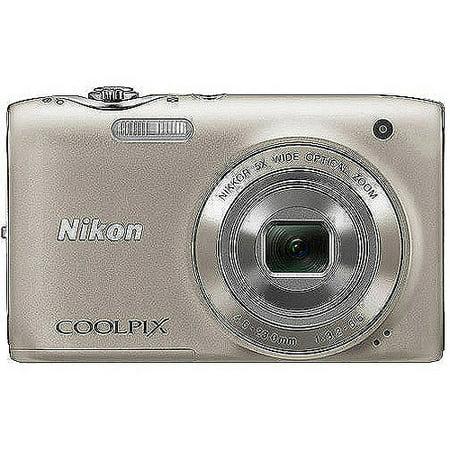Nikon coolpix s3100 14mp digital camera walmart. Com.