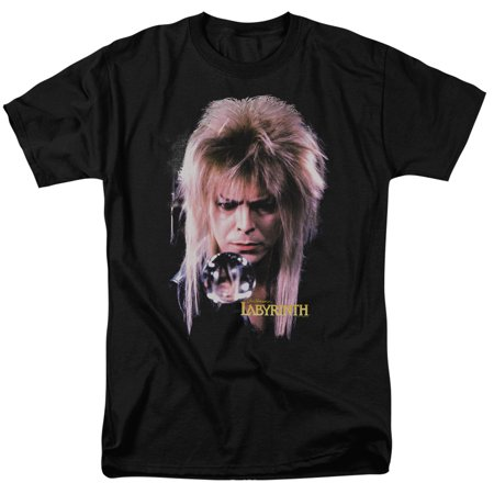 Labyrinth Goblin King Mens Short Sleeve Shirt (King Labyrinth)