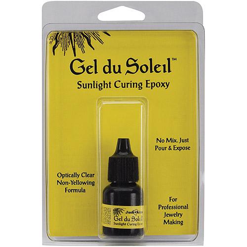 Judikins GP020 Gel Du Soleil Sunlight Curing Epoxy, 0.3-Ounce Multi-Colored