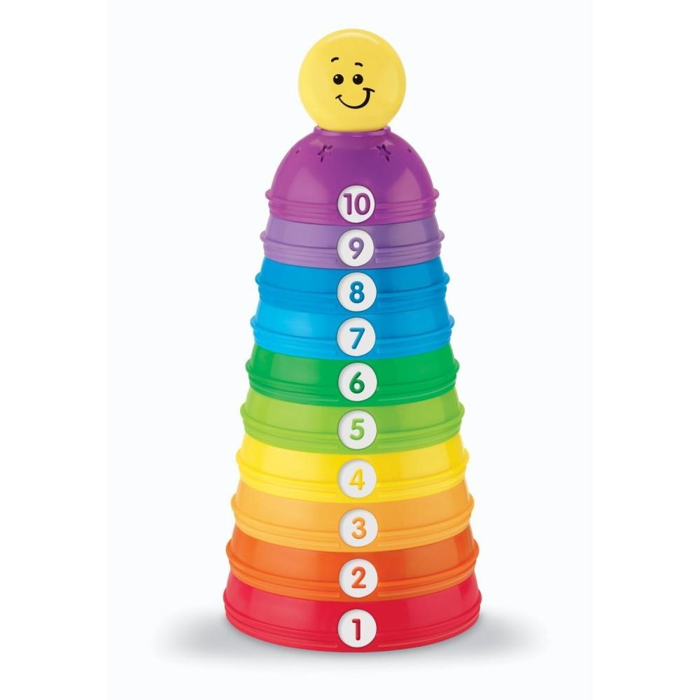 Fisher Price Brilliant Basics Stack & Roll Cups by Fisher-Price