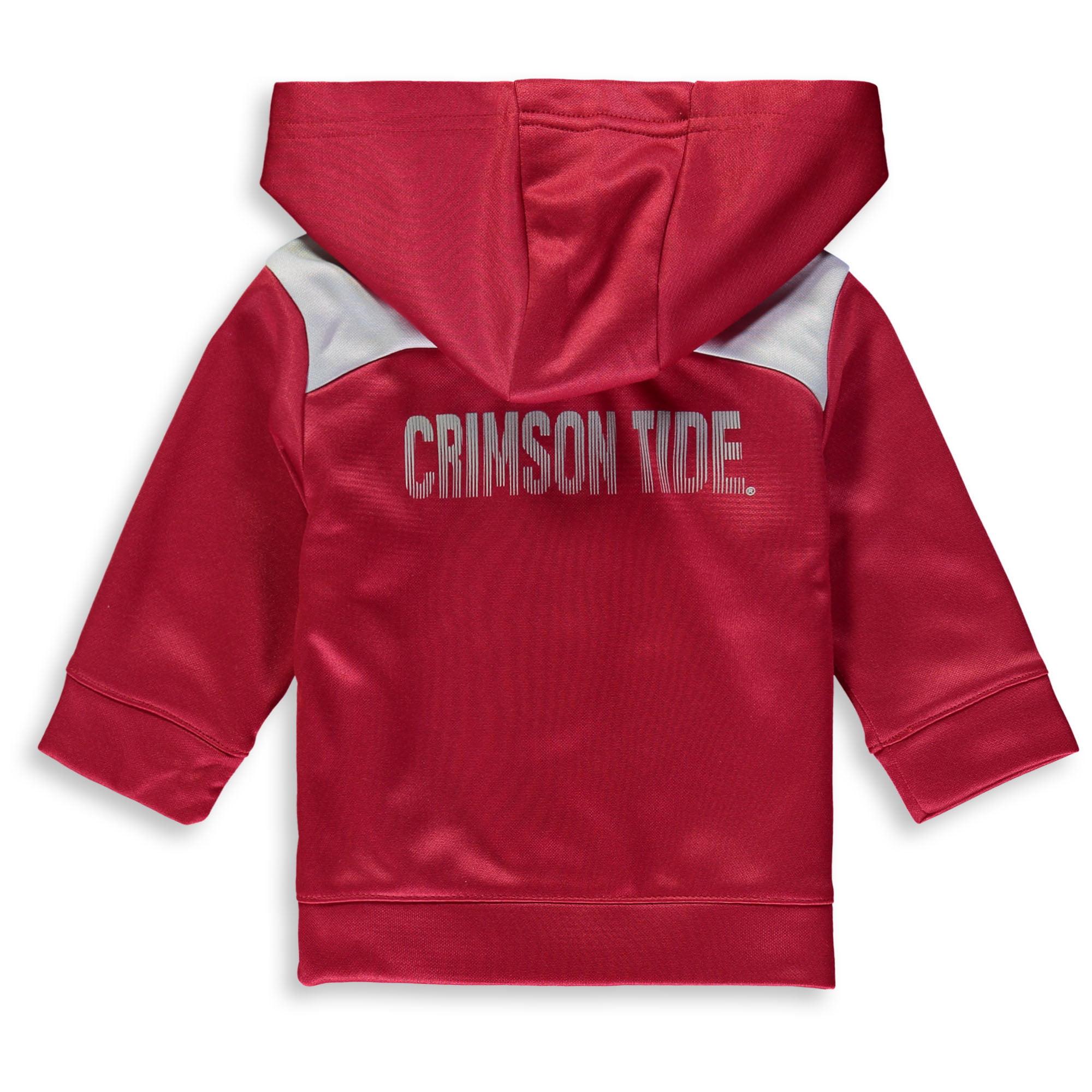 Outerstuff Infant Alabama Crimson Tide Bama Fleece Set Hoodie and Pant Set