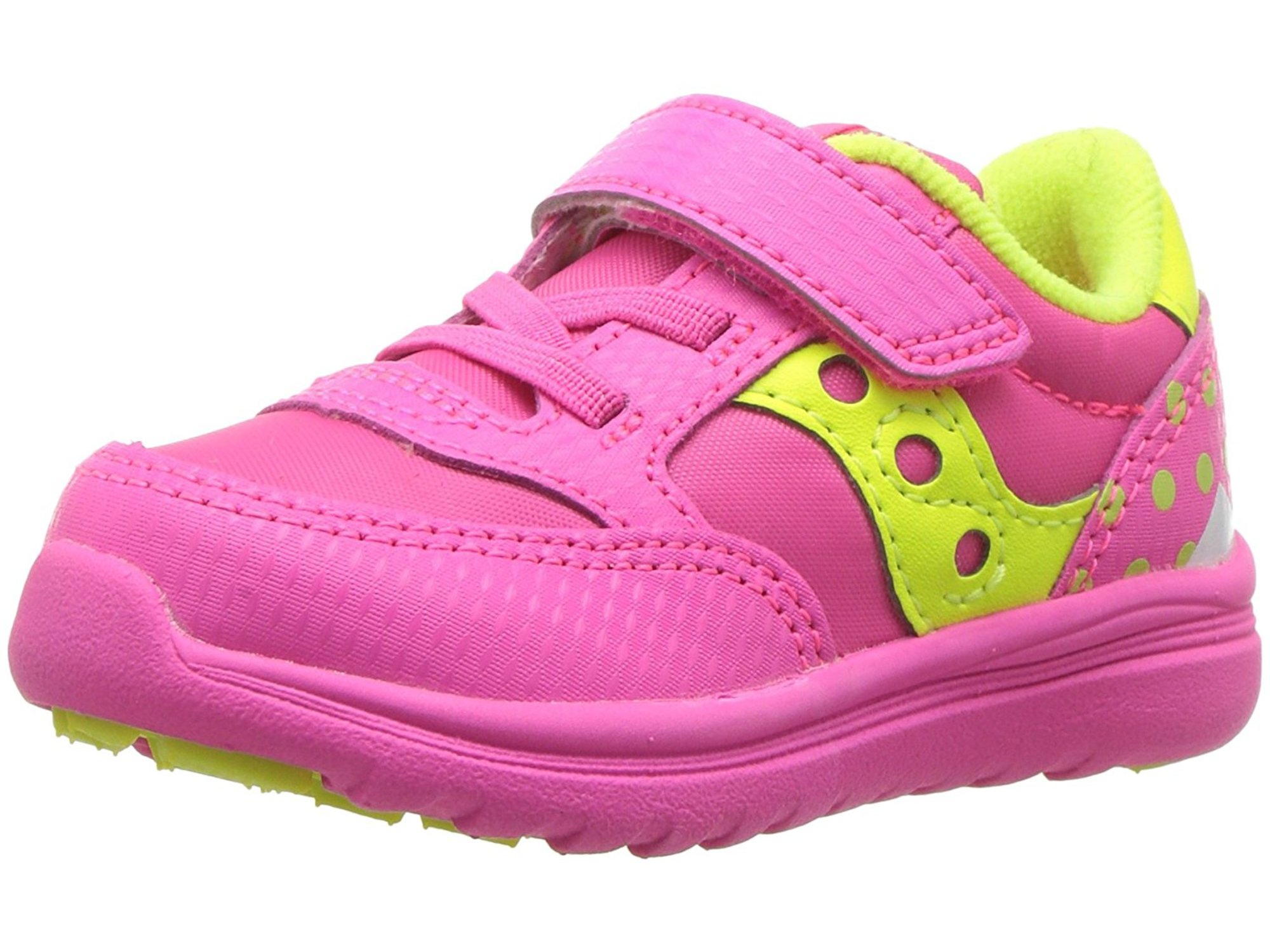 Toddler Saucony Baby Jazz Lite Sneaker Grey//Red Pirate Suede//Mesh