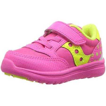 Kids Saucony Girls Baby Jazz Lite Low Top   Walking Shoes ()