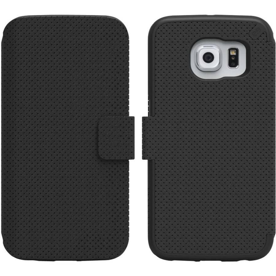 Pure Gear 99955VRP Samsung Galaxy S6 edge Express Folio, Black