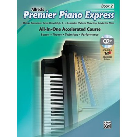 Premier Piano Express  An All In One Accelerated Course  Book  Cd Rom   Online Audio   Software