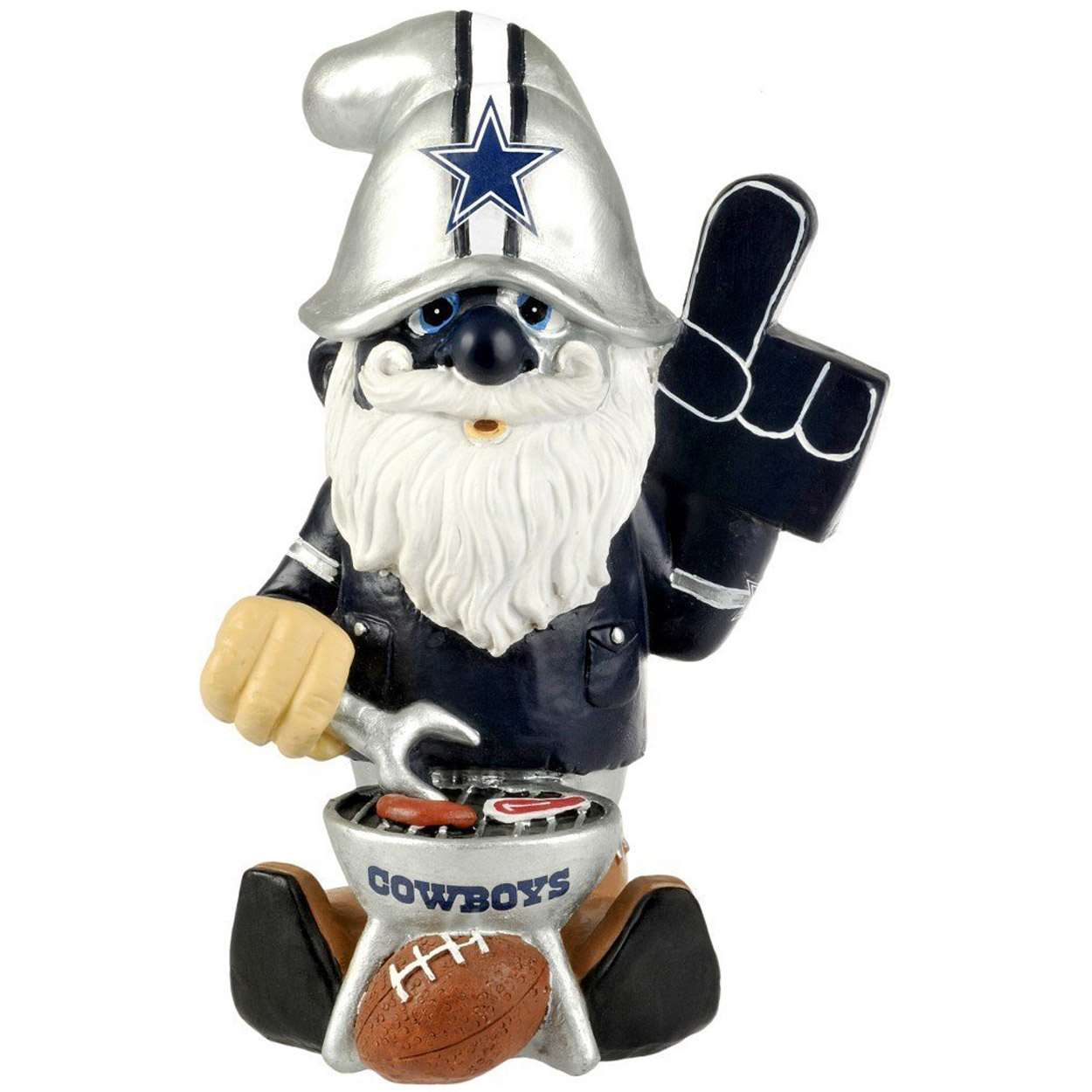 Forever Collectables NFL Thematic Gnome Version 2, Dallas Cowboys