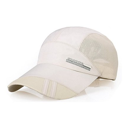 0fdfd3fb85a PaZinger Summer Baseball Cap Quick Dry Mesh Back Cooling Sun Hats Flexfit Sports  Caps for Golf Cycling Running Fishing Outdoor Research