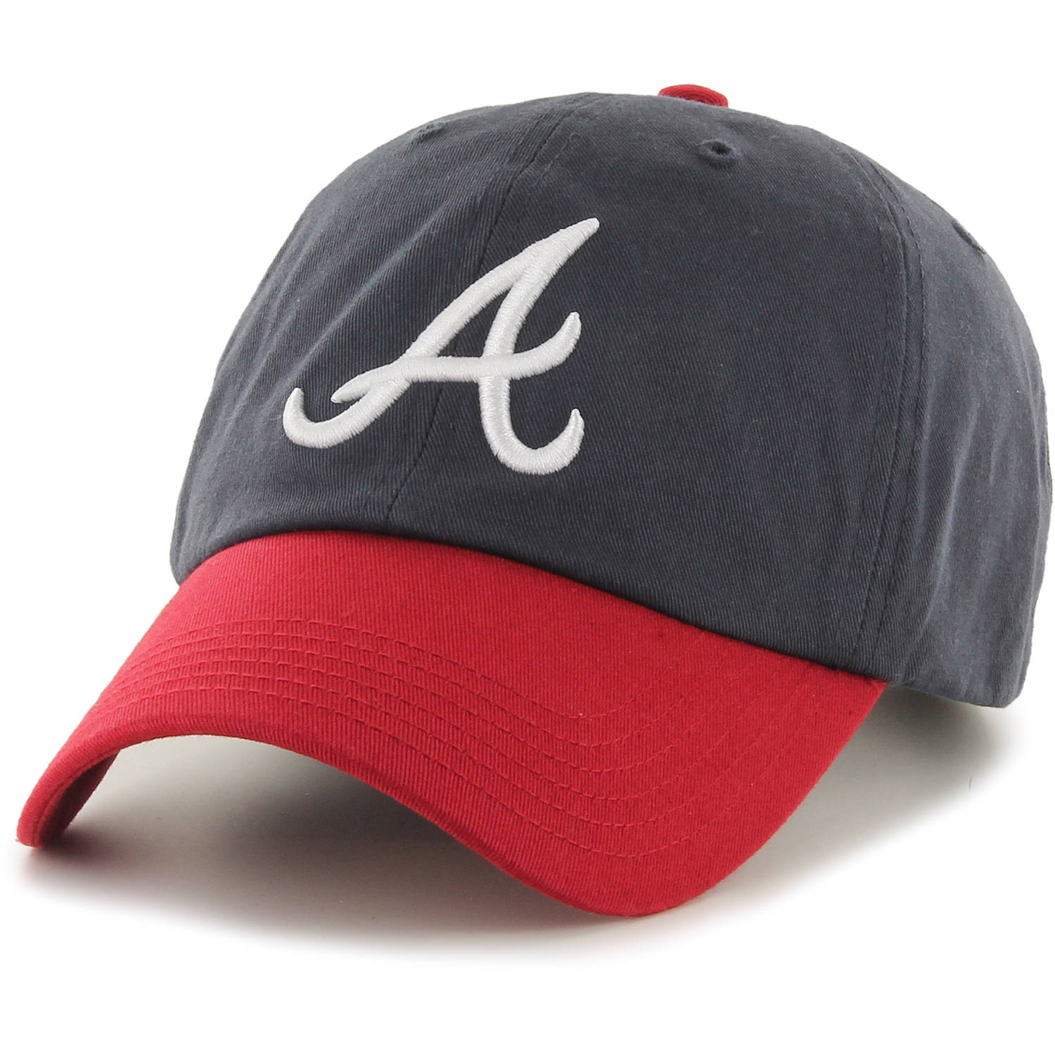 MLB Atlanta Braves Clean Up Cap / Hat by Fan Favorite