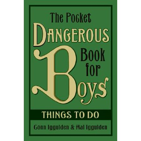The Pocket Dangerous Book for Boys: Things to Do](Things To Do Halloween Weekend)