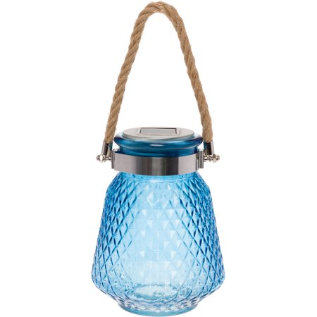 GreenLighting Solar Powered Mason Jar Decorative LED Glass Table Light
