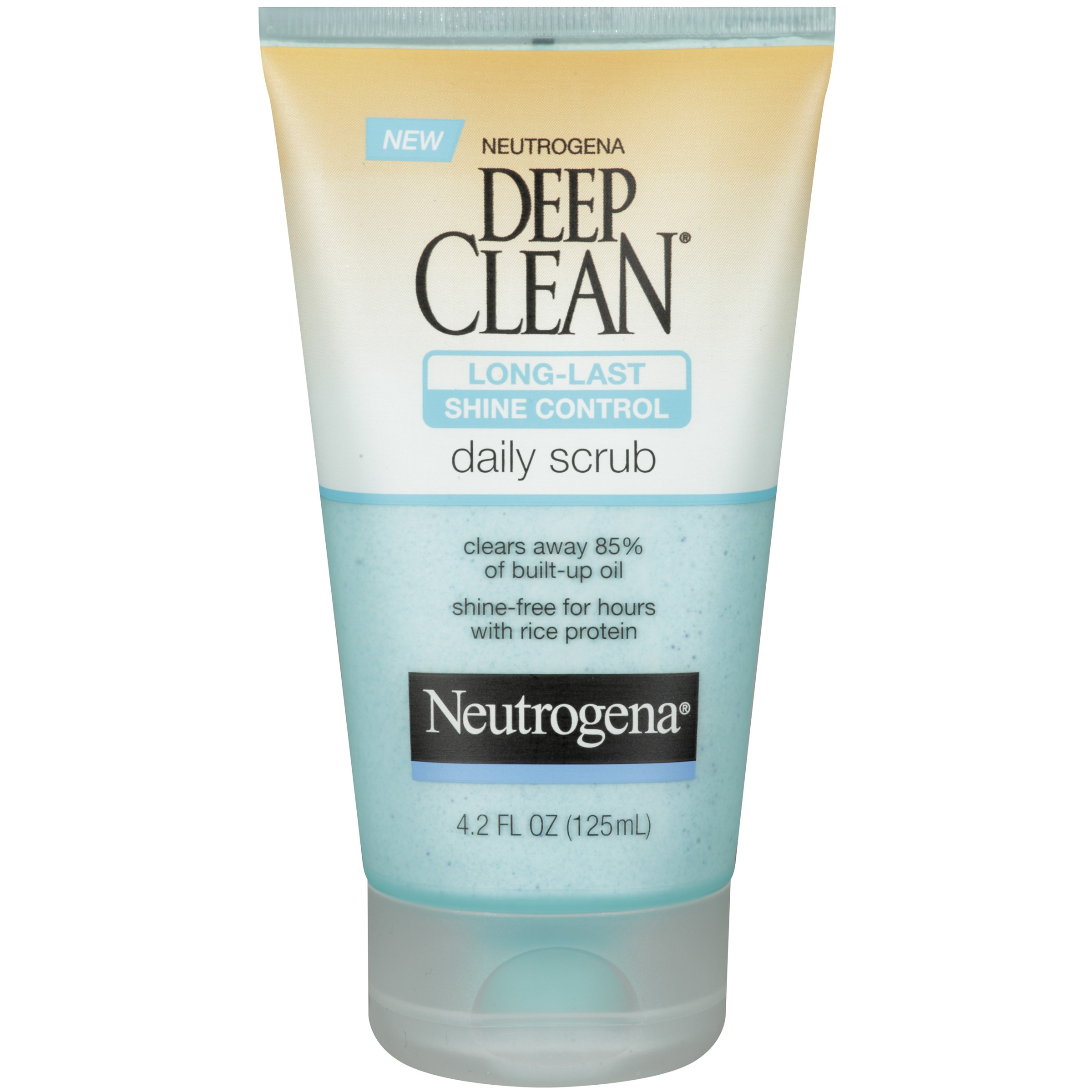 Neutrogena Deep Clean Shine Control Daily Scrub, 4.2 Fl Oz