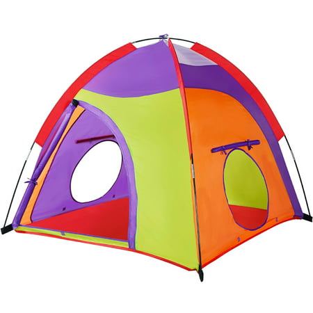 Kids Tent Colourful Curvy play tent Pop Up Tent Play Tents Indoor Outdoor Tent Great Game & Toy Gift For Children By