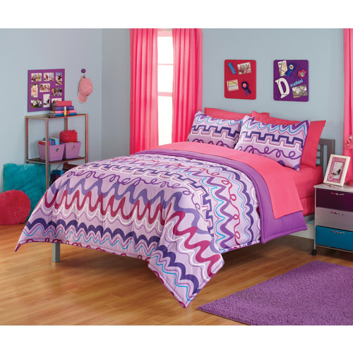 your zone zigga zaga bedding comforter set
