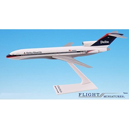 - Delta Shuttle (97-00) Boeing 727-200 Airplane Miniature Model Plastic Snap Fit 1:200 Part# ABO-72720H-033