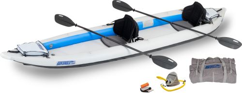 Click here to buy Sea Eagle 465FT FastTrack Inflatable Kayak Pro 2 Person Package by Sea Eagle Boats, Inc..