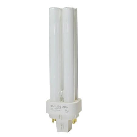 (Philips Lighting 383281 PL-C Linear Compact Fluorescent Lamp 13 Watt 4-Pin G24q-1 Base 925 Lumens 82 CRI 4100K Cool White Alto)