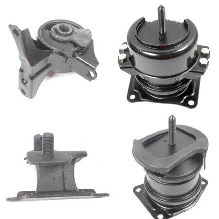 CF Advance For 00-03 Acura CL TL 3.2L FWD Automatic Engine Motor & Transmission Mount Set 4PCS 2000 2001 2002 2003 4519 6552 4507 (2001 Acura Cl A/c)