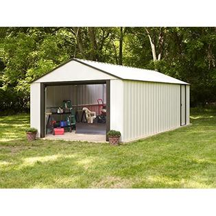 Vinyl Murryhill Storage Building, 12x17(12 x 17 ft.3,6 x 5,0 m)