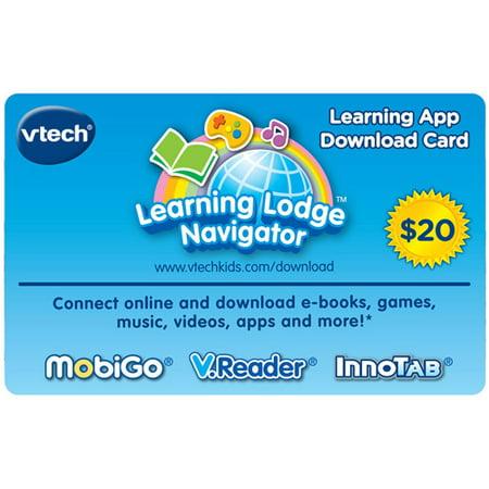 Vtech Learning App Download Card