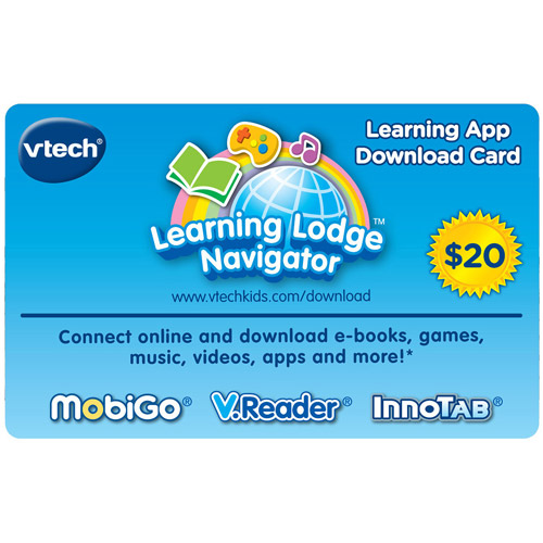 VTech Learning App Download Card