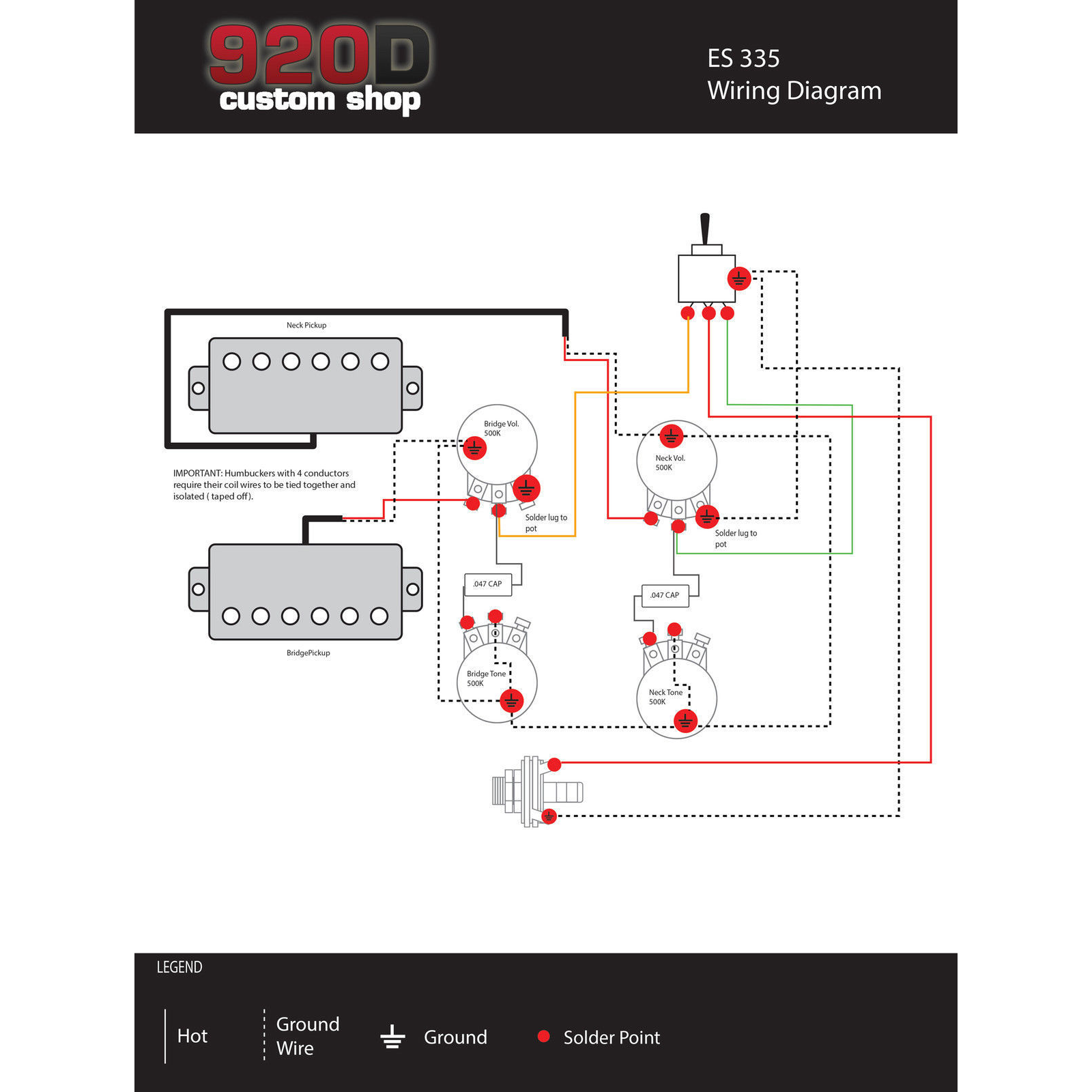 Es 335 Wiring Diagram Further Seymour Duncan Les Paul Wiring Diagram