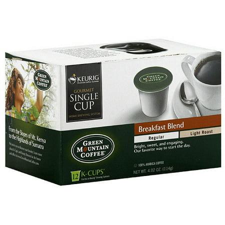 green mountain coffee roasters breakfast blend light roast k cups. Black Bedroom Furniture Sets. Home Design Ideas