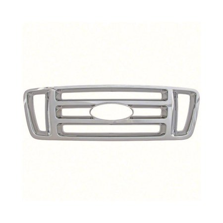Cci 2004-2008 Ford F150 Chrome Grille Overlay