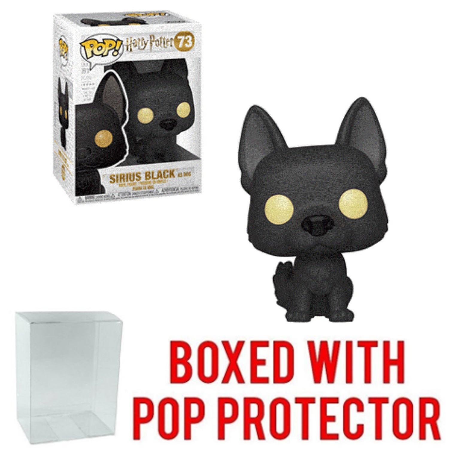 Funko POP - Harry Potter - Sirius as Dog - with Pop Protector