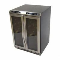 Avanti WCV38DZ Avanti Dual Zone SxS Wine Chiller - Stainless Steel
