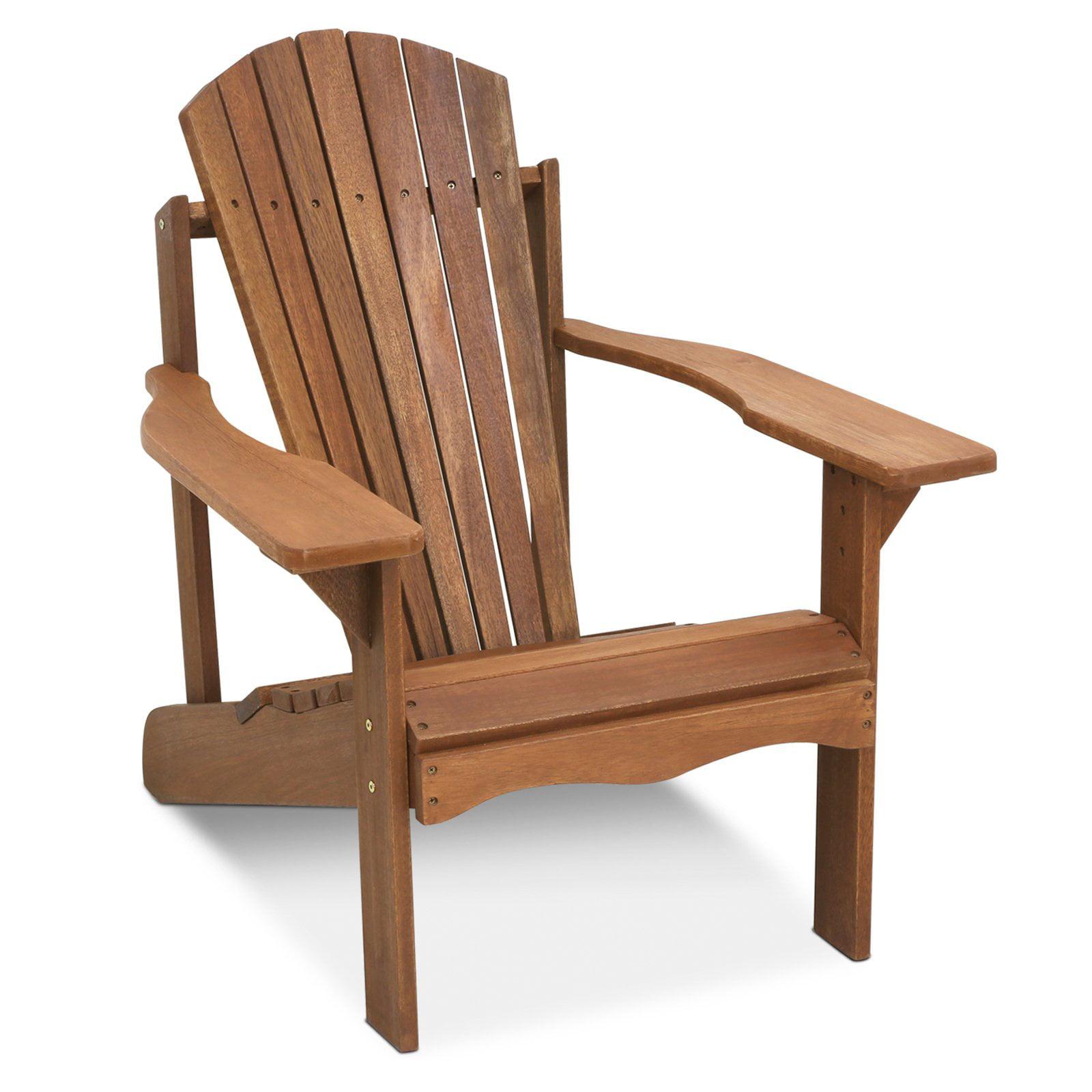 Furinno Tioman Hardwood Adirondack Patio Chair
