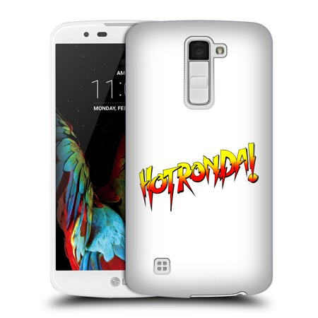OFFICIAL WWE RONDA ROUSEY HARD BACK CASE FOR LG PHONES 3